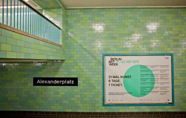 Berlin Art Week at Alexanderplatz © Oana Popa