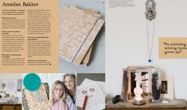 Annelies Bakker in Flow Magazine