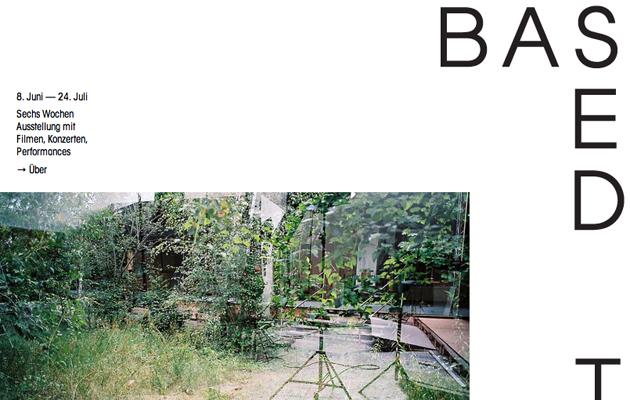 Based in Berlin © Kulturprojekte Berlin
