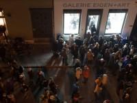 Galerie Eigen+Art during the opening of Berlin Art Week © Till Budde