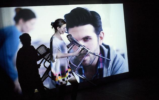 Keren Cytter's Show Real Drama at HAU Hebbel am Ufer © Alex Kraus