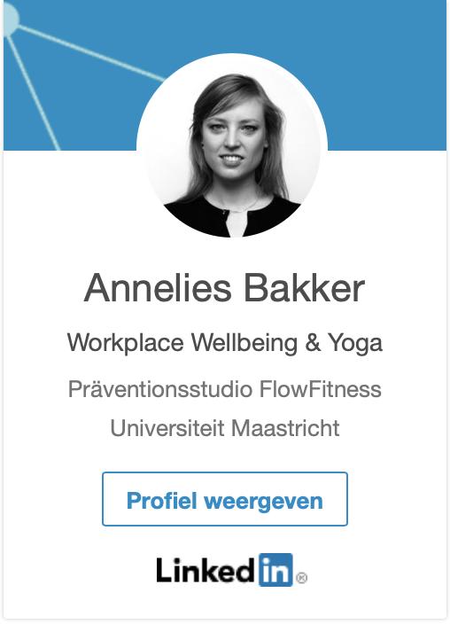 LinkedIn profiel van Annelies Bakker