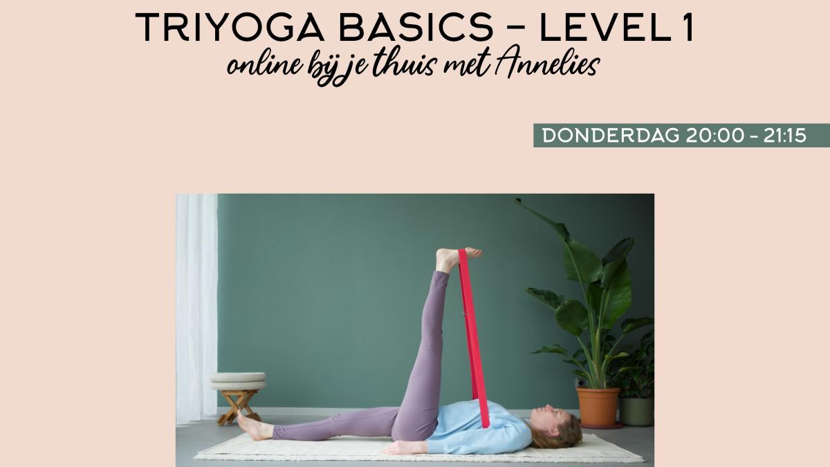 Yogales TriYoga Basics - Level 1 | WeFlow | Annelies Bakker