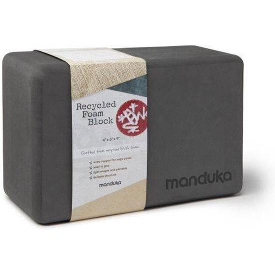 Manduka | verschillende kleuren | gerecycled foam | 23 x 10 x 15 cm | 492 g | € 17,99