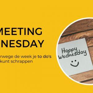No Meeting Wednesday   Annelies Bakker - De Yoga Ondernemer